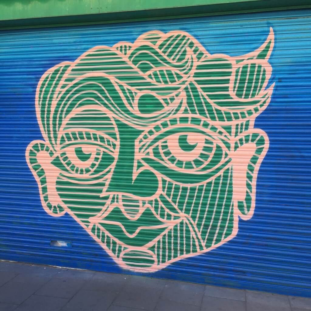 Green Face - Ashton Fruit Shop, North Street